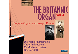VARIOUS - The Britannic Organ Vol.4 - (CD)
