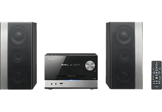 PIONEER X-PM32 Kompaktanlage (CD, CD-R/-RW, USB, Bluetooth Audio Stream, Schwarz)