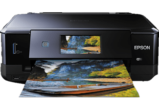 EPSON Expression Photo XP-760, 3-in-1 Tinten-Multifunktionsdrucker, Schwarz