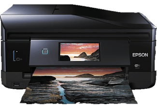 EPSON Expression Photo XP-860, 4-in-1 Tinten-Multifunktionsdrucker, Schwarz