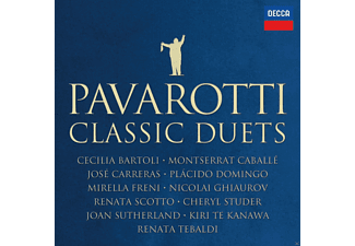 Luciano Pavarotti, VARIOUS - Pavarotti -The Classic Duets [CD]
