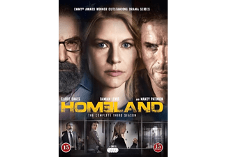 Homeland S3 Actiondrama DVD