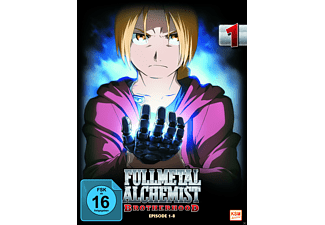 Fullmetal Alchemist - Brotherhood - Volume 1 (Folge 01-08) [DVD]