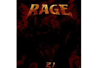 Rage - 21 (Limited Edition) [CD]