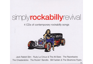 VARIOUS - Simply Rockabilly Revival [CD]