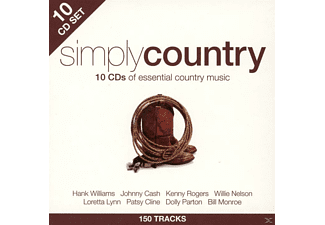 VARIOUS - Simply Country - (CD)