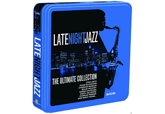 VARIOUS - Late Night Jazz (Limited Metalbox Edition) - (CD)