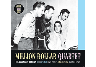 The Million Dollar Quartet - The Legendary Session - The Legendary Session [CD]