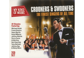 VARIOUS - My Kind Of Music: Crooners & Swooners [CD]