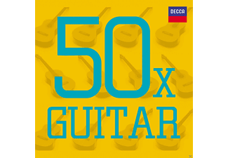 Fernandez, Romero, Acadamy Of St.Martin In The Field - 50 X Gitarre - (CD)