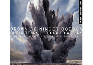 Steven Brown, Blaine Reininger, Maxime Bodson - Clear Tears/Troubled Waters - (CD)