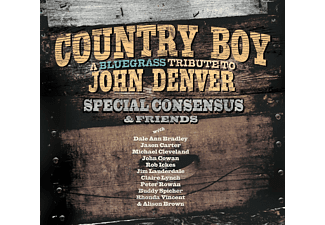 Special Consensus & Friends - Country Boy: A Bluegrass Tribute To John Denver [CD]