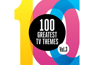 VARIOUS - 100 Greatest Tv Themes Vol. 3 - (CD)