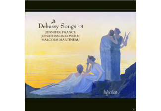 Jennifer France, Jonathan McGovern, Malcolm Martineau - Debussy Songs - Vol. 3 - (CD)
