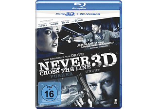 Never Cross the Line (Uncut) - (3D Blu-ray)