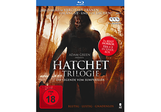 Hatchet I-III [Blu-ray]