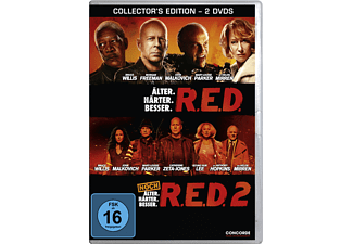 R.E.D./ R.E.D. 2 (COLLECTORS EDITION) [DVD]