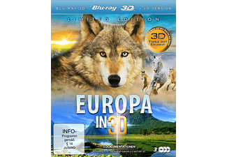 Europa in 3D (Limited Edition) - (3D Blu-ray)