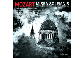 St Paul's Cathedral Choir, Andrew Carwood, David Wilson-johnson, Lynda Russel, Lina Markeby, James Oxley, St. Paul's Mozart Orchestra - Missa Solemnis/Regina Caeli/+ - (CD)
