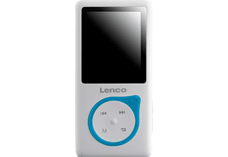 LENCO Xemio 657 MP4 Player (4 GB, Weiß/Blau)