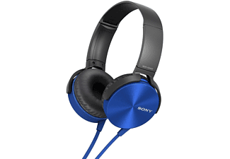 SONY Extra Bass  Headphones MDR-XB450APL Blue