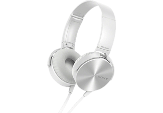 SONY Extra Bass  Headphones MDR-XB450APW White