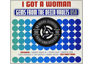 VARIOUS - I Got A Woman - Gems From The Decca Vaults 1960-61 - (CD)