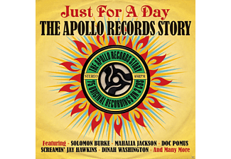 VARIOUS - Just For A Day - The Apollo Record Story - (CD)