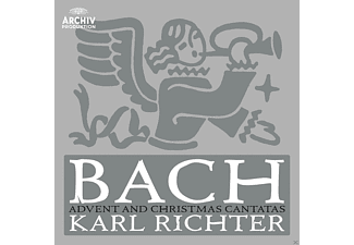 Karl Richter, Münchner Bach-orchester, Münchener Bach-chor - Advent & Christmas Cantatas [CD]