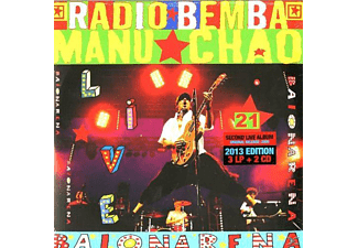 Manu Chao - Baionarena (3xLP+CD) [LP + Bonus-CD]