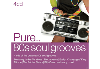 VARIOUS - Pure... '80s Soul Grooves - (CD)