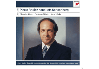 VARIOUS - Pierre Boulez Conducts Schönberg [CD]