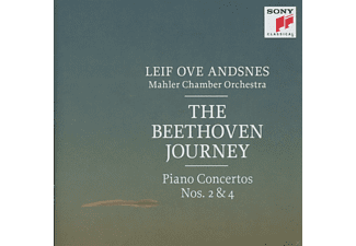Leif Ove Andsnes, Mahler Chamber Orchestra - The Beethoven Journey: Piano Concertos Nos. 2 & 4 - (CD)