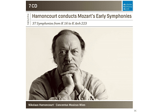 Concentus Musicus Wien - Nikolaus Harnoncourt Conducts Mozart's Early Symphonies [CD]