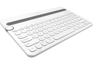 LOGITECH Bluetooth Multi-Device Keyboard K480 White - (920-006367)