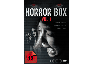 HORROR BOX 1 - SILENT HOUSE/GRAYSTONE/FROZEN BLOOD [DVD]