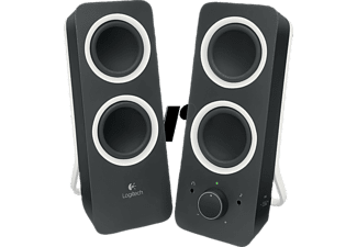 LOGITECH Multimedia Speakers Z200 Black - (980-000810)