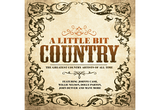 VARIOUS - Little Bit Country - (CD)