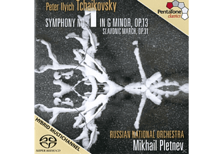 Russian National Orchestra - Symphonie No.1/Marche Slave - (CD)