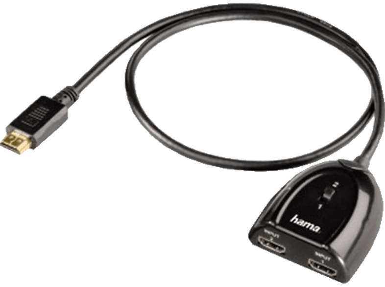 HAMA HDMI Switcher 2x1 - (122224) εικόνα   ήχος   offline αξεσουάρ εικόνας   ήχου καλώδια ήχου  εικόνας τηλεόραση