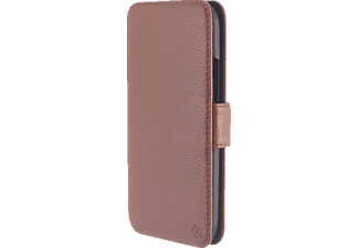 TELILEO 3305 Touch Case, Bookcover, One M8, Cognac
