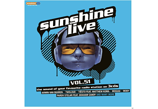 VARIOUS - Sunshine Live 51 [CD]