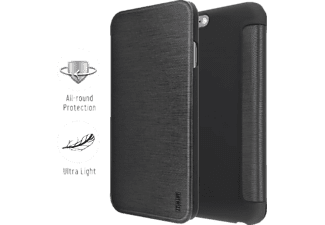 ARTWIZZ SmartJacket®, Bookcover, iPhone 6 Plus, Schwarz