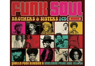 VARIOUS - Funk Soul Brothers & Sisters - (CD)