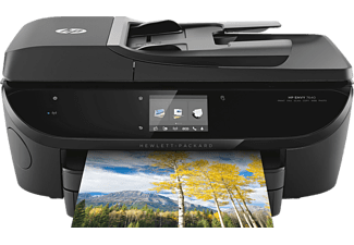 HP ENVY 7640, 4-in-1 Tinten-Multifunktionsdrucker, Schwarz