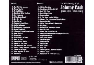 Johnny Cash - In Memory Of... [CD]