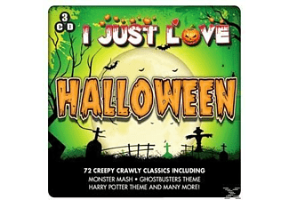 Various - I Just Love Halloween [CD]