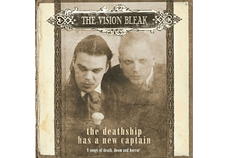 The Vision Bleak - The Deathship Has A New Captain [CD]