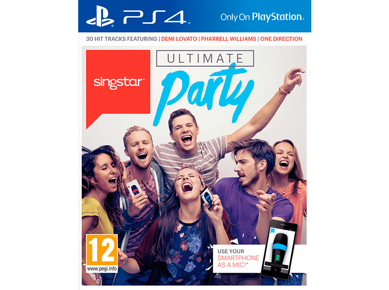 SingStar: Ultimate Party PlayStation 4 gaming   offline sony ps4 παιχνίδια ps4 gaming games ps4 games