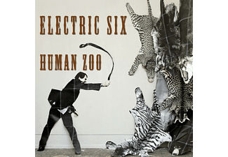 Electric Six - Human Zoo (Orange Coloured Vinyl) - (Vinyl)